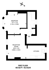 Large floorplan for Stansfield Road, Stockwell, SW9