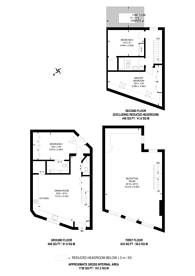 Large floorplan for Thornhill Road, Barnsbury, N1