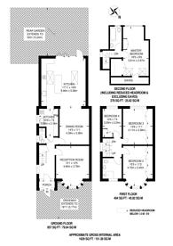 Large floorplan for Wood Lane, Isleworth, TW7