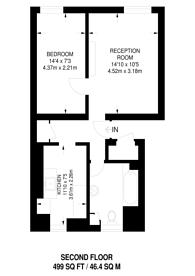 Large floorplan for Portpool Lane, Farringdon, EC1N