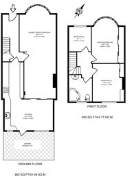 Large floorplan for Huxley Gardens, Hanger Hill, NW10