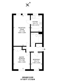 Large floorplan for Henfield Road, Raynes Park, SW19