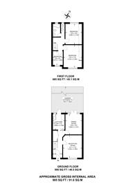 Large floorplan for The Quadrant, Wimbledon, SW20