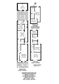 Large floorplan for Canterbury Road, Leyton, E10