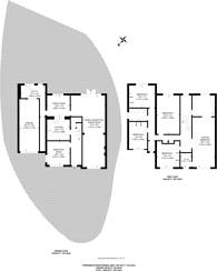 Large floorplan for Kingwell Road, Hadley Wood, EN4