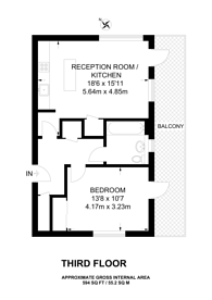 Large floorplan for Havill Street, Camberwell, SE5