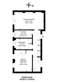 Large floorplan for Upper Grosvenor Street, Mayfair, W1K