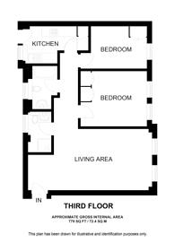 Large floorplan for SW3, Chelsea, SW3