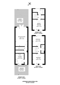 Large floorplan for Lea Bridge Road, Clapton, E5