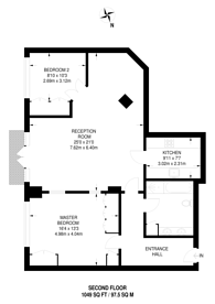 Large floorplan for Telfords Yard, Wapping, E1W