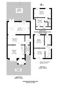 Large floorplan for Hospital Bridge Road, Whitton, TW2