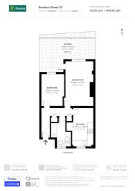 Large floorplan for Doveton Street, Whitechapel, E1