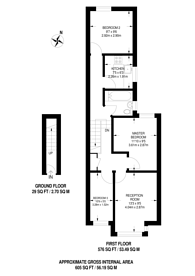 Large floorplan for Rectory Road, Manor Park, E12