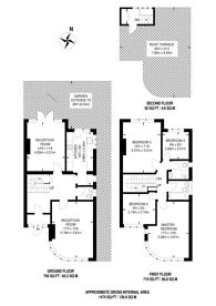 Large floorplan for Ellesmere Road, Chiswick, W4