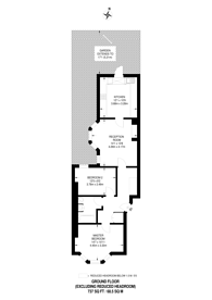 Large floorplan for Bromells Road, Clapham Old Town, SW4