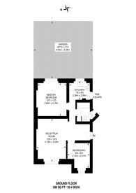 Large floorplan for Charlbert Street, St John's Wood, NW8