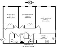 Large floorplan for Edith Terrace, Chelsea, SW10