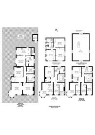 Large floorplan for The Turrets, Dartmouth Road, NW2, Mapesbury Estate, NW2