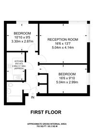 Large floorplan for Sherwood Gardens, Isle Of Dogs, E14