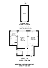 Large floorplan for Cranford Lodge, Southfields, SW19