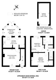 Large floorplan for Cedar Way, Guildford, GU1