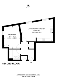 Large floorplan for Ladysmith Road, Harrow, HA3