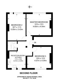 Large floorplan for Putney High Street, Putney, SW15