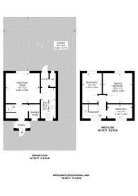 Large floorplan for Churchill Road, Beckton, E16