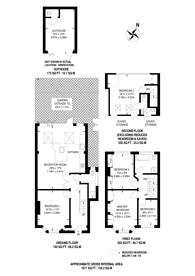 Large floorplan for Abbotts Road, Mitcham, CR4