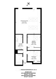 Large floorplan for Willesden Lane, Mapesbury Estate, NW6