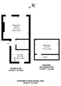 Large floorplan for Maple Road, Penge, SE20