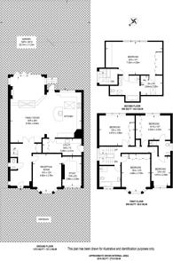 Large floorplan for Albion Road, Coombe, KT2