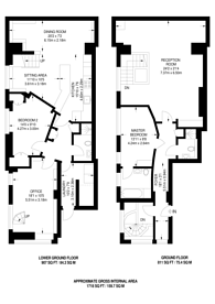 Large floorplan for Dufferin Street, Clerkenwell, EC1Y
