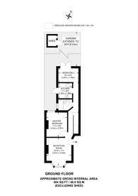 Large floorplan for Leslie Road, Leyton, E11