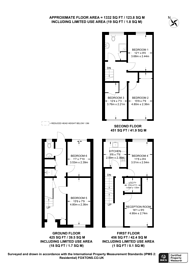 Large floorplan for Queens Drive, Stoughton, GU2