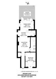 Large floorplan for Theatre Street, Battersea, SW11