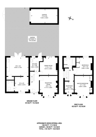 Large floorplan for Alan Drive, High Barnet, EN5