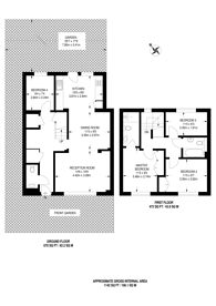 Large floorplan for The Bye, East Acton, W3