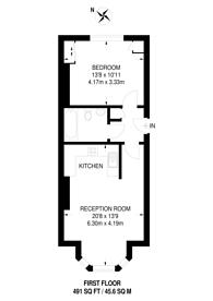 Large floorplan for Grove Crescent, Kingston, KT1