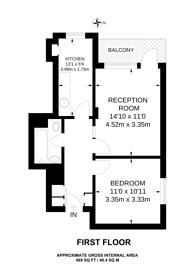 Large floorplan for Tangley Grove, Roehampton, SW15
