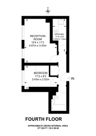 Large floorplan for Pembridge Gardens, Notting Hill, W2