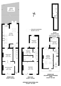 Large floorplan for Boundaries Road, Balham, SW12