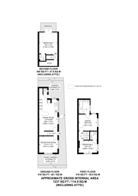 Large floorplan for Archbishops Place, Brixton Hill, SW2