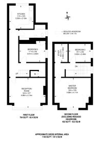 Large floorplan for Albert Road, South Norwood, SE25