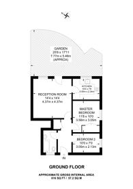 Large floorplan for Littlefield House, Kingston, KT1