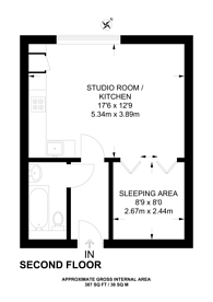 Large floorplan for Wandsworth Road, Battersea, SW8