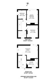 Large floorplan for Telfourd Road, SE5, Camberwell, SE15