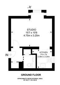 Large floorplan for Kestrel Close, Wembley, NW10