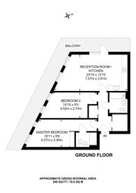 Large floorplan for Hatton Road, Alperton, HA0