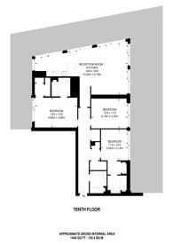 Large floorplan for The Residence, Nine Elms, SW8